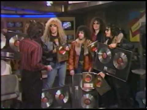 Twisted Sister-Interview Much Music Canada 1984