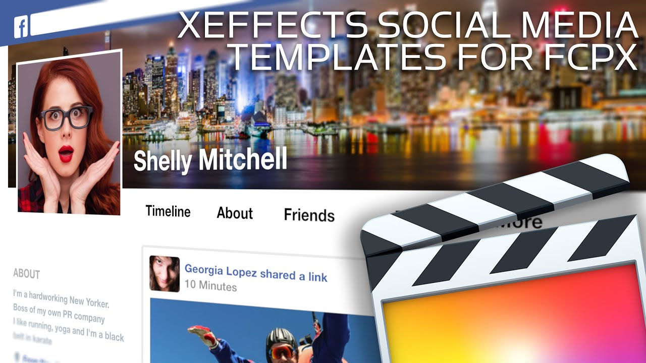 Social Media Templates for FCP X - YouTube