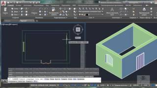 [AutoCAD Architectura для дизайнеров] Создание помещения