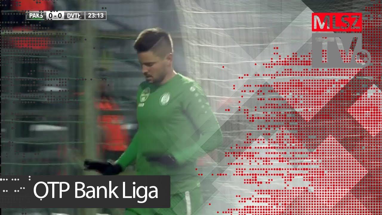 Szakály Dénes gólja a Paksi FC - DVTK mérkőzésen