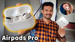 Apple Airpodல் இவ்வளவு வசதிகளா? | Unboxing: Apple Airpod Pro | Detailed Review | Tech Boss