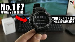 No.1 F7 REVIEW: THIS Smartwatch is NOT For Everyone!