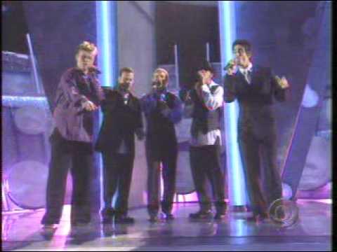 Backstreet Boys How Deep Is Your Love Live - Grammy Award