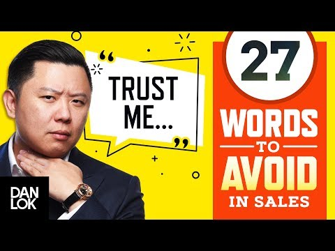 27 Words To Avoid In Sales