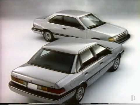 1990 Mercury Topaz, & Ford Tempo Commercial