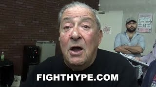 BOB ARUM NOT PLAYING GAMES; INSISTS CRAWFORD VS. SPENCE CAN BE MADE IN 3 HOURS, GARCIA VS. LOMA NEXT