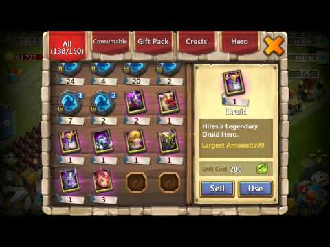 Castle Clash 36 EGG Smashes New Update Warlock IOS