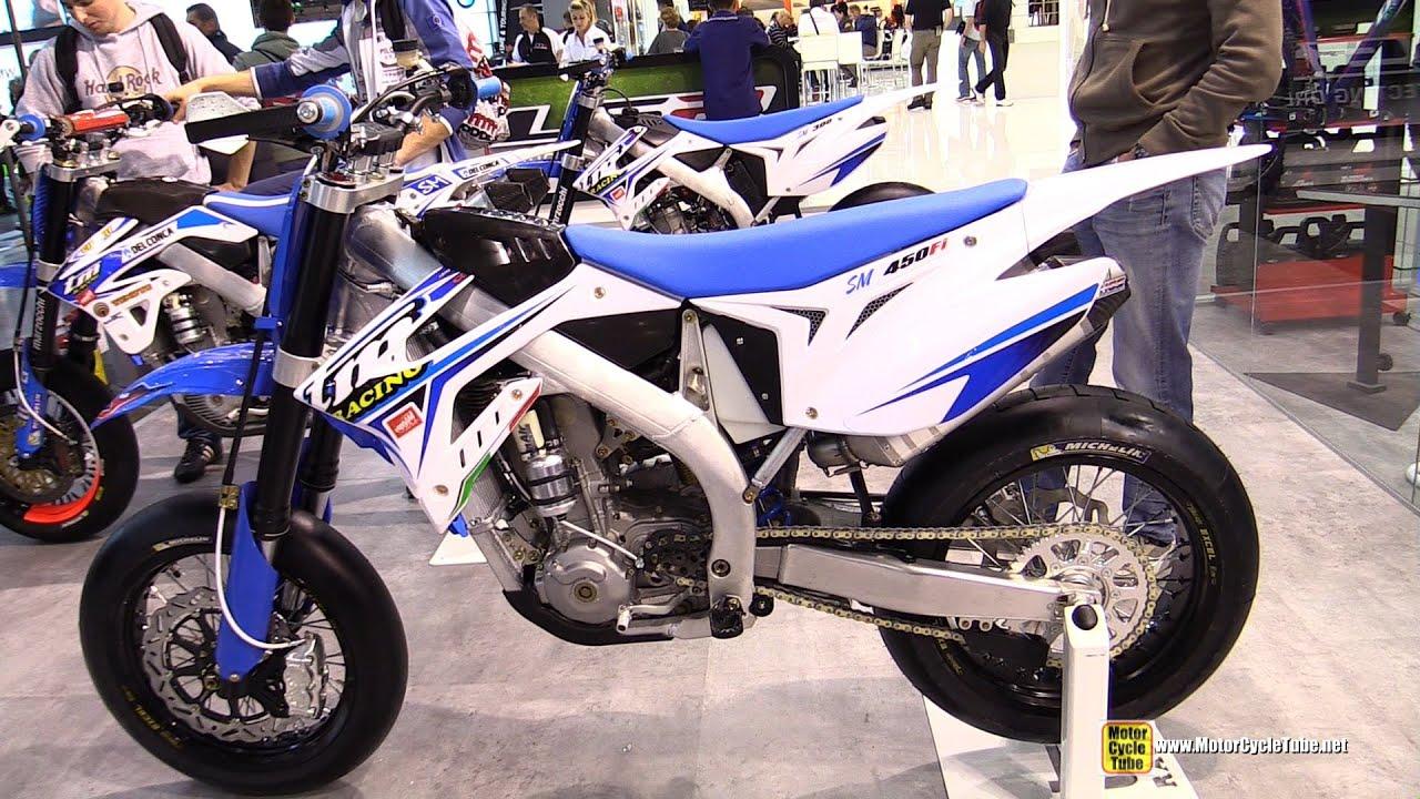 2015 TM Racing SMX 450 FI - Walkaround - 2014 EICMA Milan ...