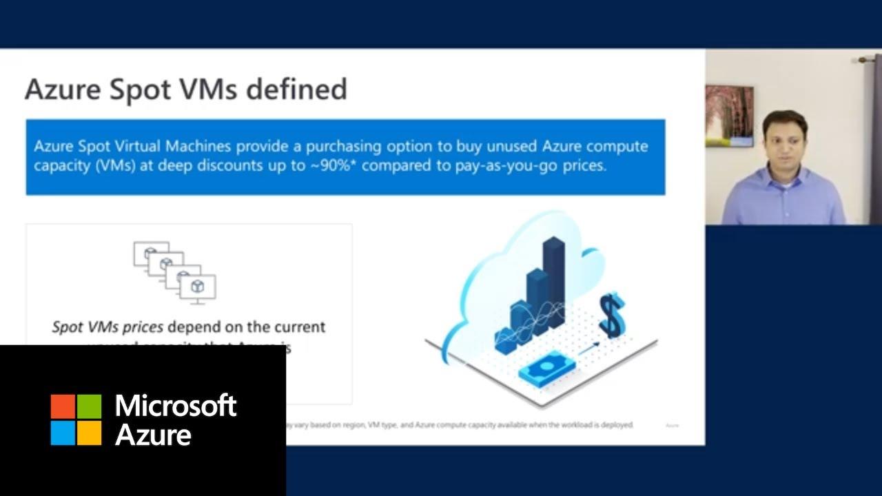 Microsoft Azure Spot Virtual Machines overview