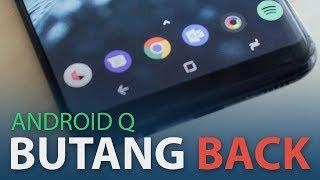 """Android Q Dijangka Membuang Butang """"Back"""""""
