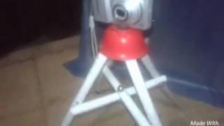 cara membuat tripod sendiri dari pipa bekas