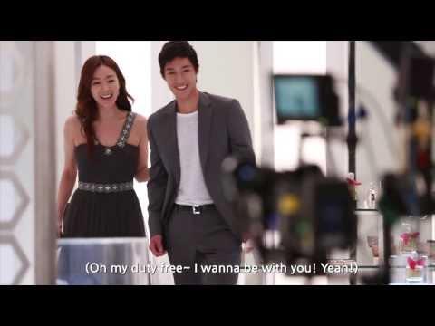 [2013 LOTTE DUTY FREE Music Video Making Film] Choi Ji Woo & Kim Hyun Joong ENG Ver