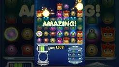 Ninja Casino - Big Win on Reactoonz 60k