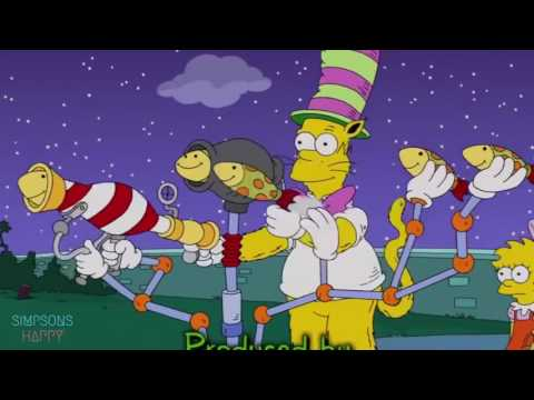 Happy the simpsons The Simpsons - Homer Becomes a Cat