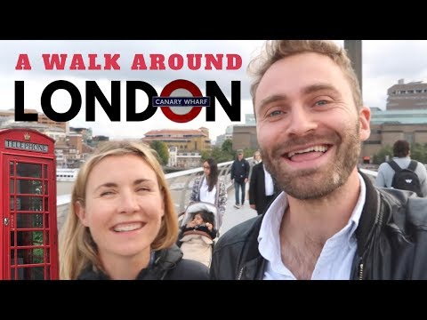 A Walk in LONDON with MY SISTER   British English Listening Practice