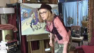 Kata Billups Paintings -Robots, cybersoldiers, Jetsons, Mick Jagger, technocrats, Gates, D. Estulin