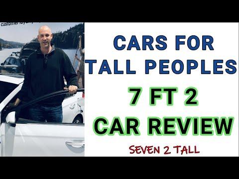 "CAR 4 TALL PEOPLE 7ft 2"" tall guy car reviews"
