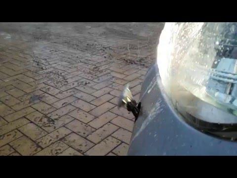 Работа омывателя фар Toyota Camry V50