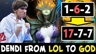 Dendi from LOL to GOD