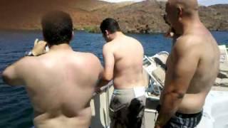 Sako Double Front Flip off Houseboat