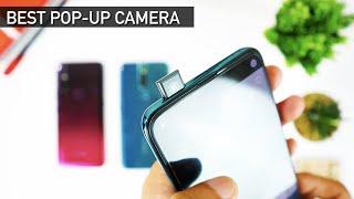 Huawei Y9 Prime 2019 vs Vivo V15 vs Oppo F11 Pro | Pop-up Camera Battle