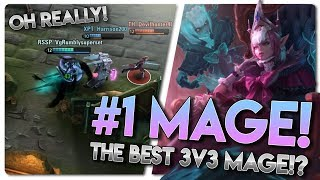 #1 MAGE!? | Vainglory 3v3 [Ranked] Gameplay | Malene [CP] Lane Gameplay