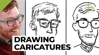 How a Cartoonist Draws a...Cartoon