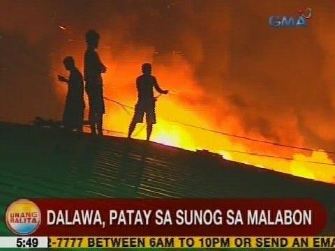 UB: Dalawa, patay sa sunog sa Malabon