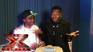 Reggie 'N' Bollie attempt to name 10 states in the USA  | The X Factor 2015