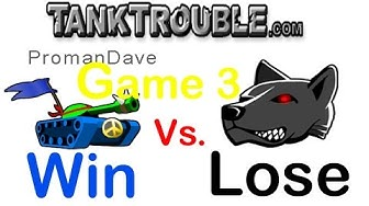 【Defeated Laika】 Welcome Back! : AZ Tank Trouble 4 Game 3