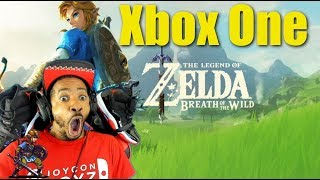 Xbox Getting Zelda Breath Of The Wild Clone