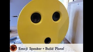 Emoji Speaker + FREE Build Plans!