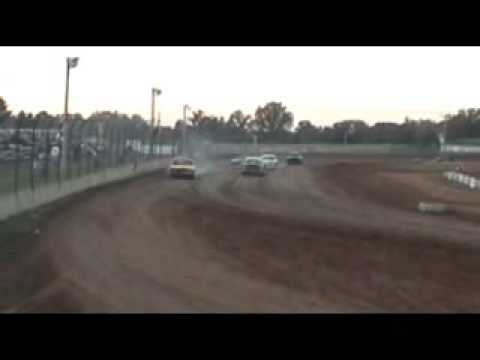 Dallas County Speedway Pure Stock Heat Race 10-18-08