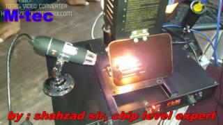 how to use lk 863 infrared bga rework station