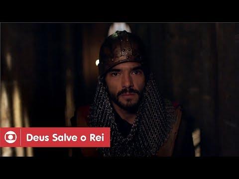 Deus Salve O Rei: capítulo 77 da novela, sábado, 7 de abril, na Globo