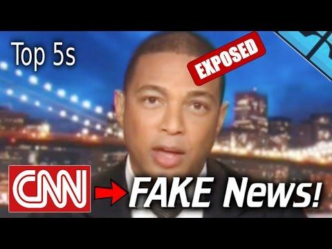 BEST CNN FAKE NEWS EXPOSED CLIPS 2017! Don Lemon FAILS Trump Bush Trey Gowdy FAKE NEWS FAILS