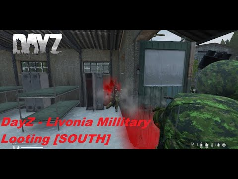 DayZ - Livonia Millitary Looting [SOUTH] | Deutsches Dosenbier Server 3 | Black Market Wolves