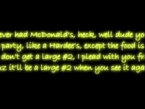 McDonalds rap lyrics - Answers.com