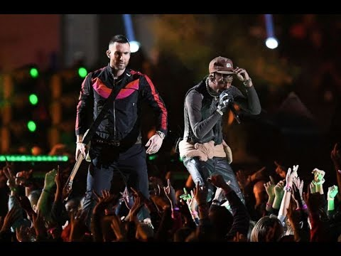 Maroon 5 Rocks Super Bowl 2019 Halftime Show With Travis Scott And Big Boi