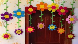 DIY | How to Make Paper Door Hanging |Toran | Siri Art&Craft |