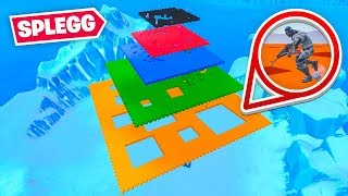 IMPOSSIBLE FORTNITE SPLEGG GAME MODE (Fortnite Creative)