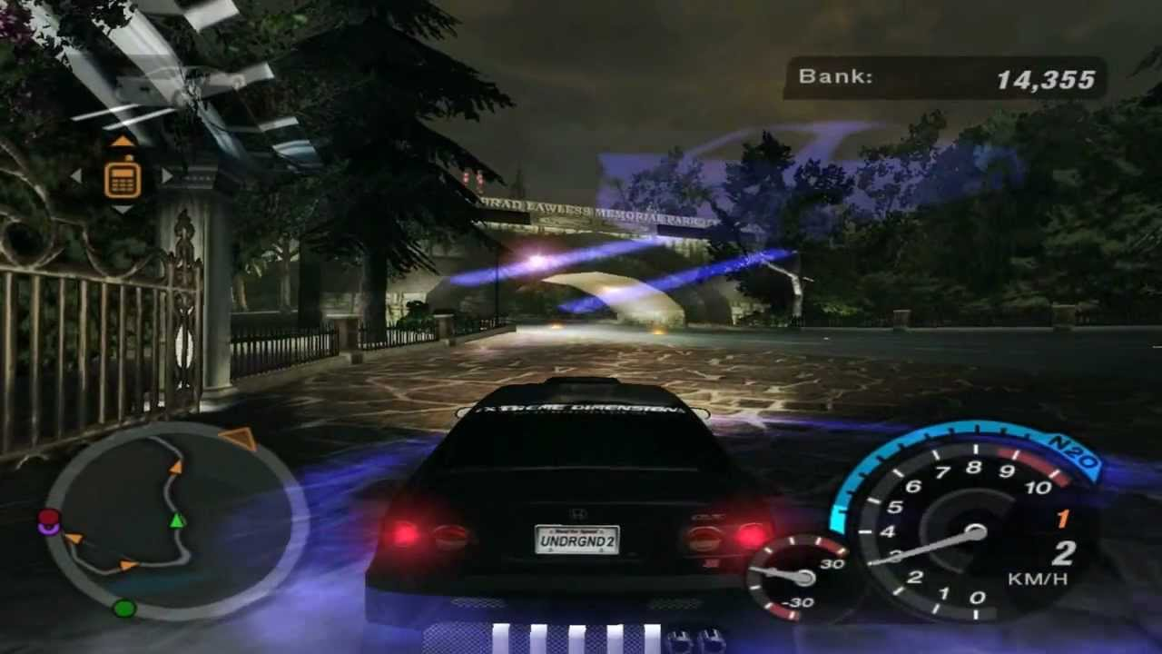 Need For Speed Underground 2 Hidden Race 43 Drag Stage 3