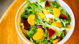Mandarin Orange And Pickled Beet Salad