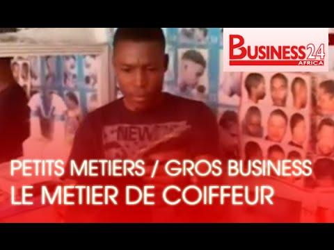 Petits Metiers / Gros Business - Le métier de coiffeur à Abidjan