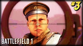BATTLEFIELD 1 - Unfortunate Moments #3 (Smallest Gun Kills! Scary Deaths, Random Moments!)