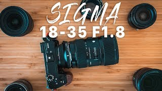 WOW Sigma 18 35 1 8 Sony E Mount w MC 11 Adapter Review