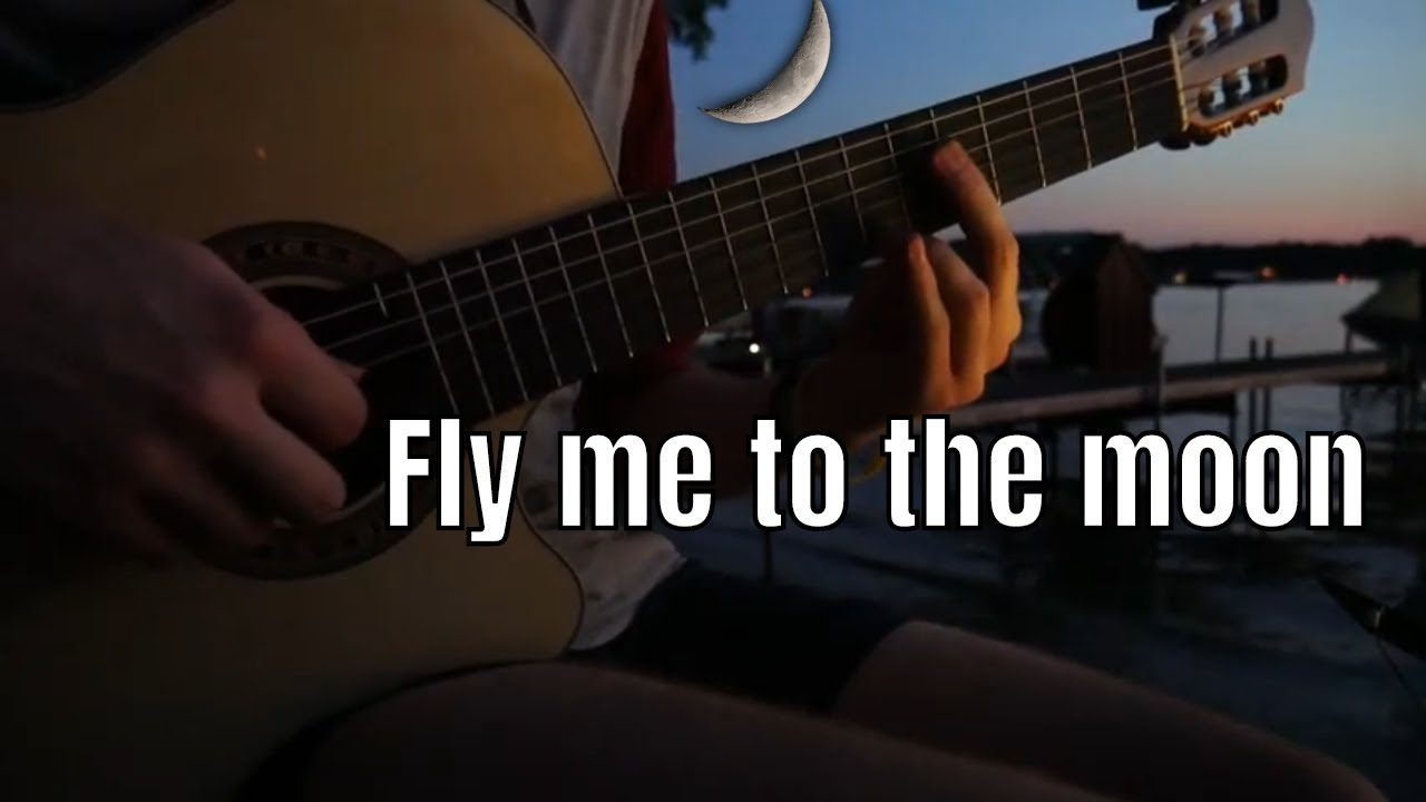 Fly me to the Moon | Solo Guitar Cover