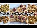 5 Ricette Facili  Rustici di Pasta Sfoglia