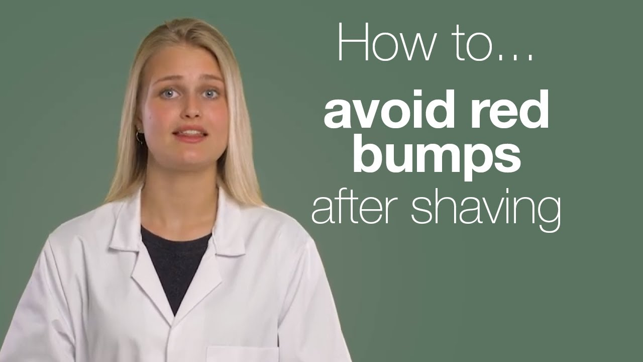 Red Razor Bumps After Shaving - How to Treat and Prevent