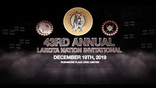 LNI Basketball 2019 |  Day 2, White River Tigers vs. Eagle Butte Braves (Boys)